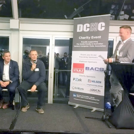 Panel of speakers at DCNC Luna Park