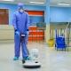 Scrub-washing floor in cleanroom widget