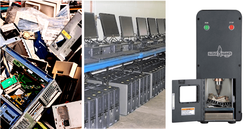 Ewaste and data management solutions