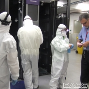 Garmenting for cleanroom disaster recovery