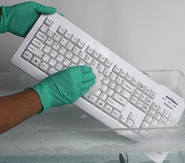 White washable keyboard