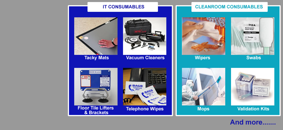 Cleanroom and data centre product range