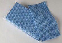 68155 - CHUX® Large Heavy Duty Blue Cloth<br />Ideal for Damp Cleaning, 300 cloths per box