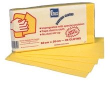 68150 - CHUX® Yellow Dusting Cloth<br />Dry Computer Cleaning Wipe Safe Around Electronic Equipment, 125 cloths per box