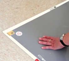 64014FW - White Texwipe CleanStep™ Frame<br />66.0 x 116.8 x 0.3 cm frame for use with 64005B and 64010B Texwipe CleanStep Mats, 1 frame per case