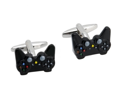 65108 - Game Controller Cufflinks 1 pair<br />Novelty gift for men