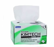 KIMTECH SCIENCE* KIMWIPES* Delicate Task Wipers<br />Ideal for general wiping and spill control in laboratories and less critical controlled environments, 280 wipers per box