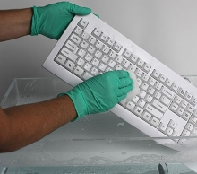 Silver Seal™ Medical Grade Washable White Keyboard