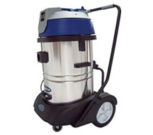 69105 - Commercial Stainless Steel Wet 'N' Dry Vacuum Cleaner 60 Litre