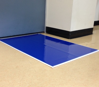 64002 - BACSMats Contamination Control 30-Layer Mats<br />61 x 91 cm adhesive-coated contamination control tacky mats, 8 per case