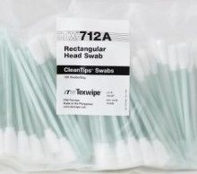 63060 - Texwipe TX712A Rectangular Head Swab<br>Large foam swab for cleaning broad surfaces and flat areas, 100 swabs per bag
