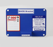 64025 - BACS Wall Bracket<br />Keeps your tile removal tools in one convenient location, 1 bracket per pack